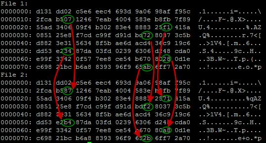 Nilai hash keduanya: 79054025255fb1a26e4bc422aef54eb4