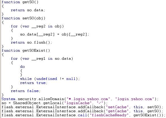 Script dataCache.swf